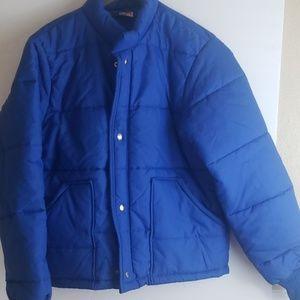 Vintage usa unitog mens blue puffer jacket